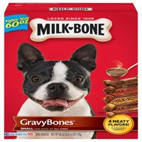 Milk-Bone GravyBones Dog Biscuits - Small, 60-Ounce