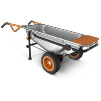 WORX WG050 Aerocart 8-in-1 Wheelbarrow / Yard Cart / Dolly