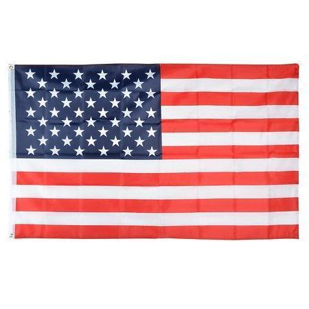 - 3' x 5' ft. 3x5 Feet USA US U.S. Patriotic American Flag Stars Grommets America United States U.S.A. Pride