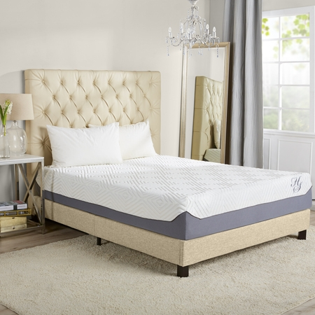 """Hotel Style 12"""" Breathable Cooling Memory Foam Mattress"""