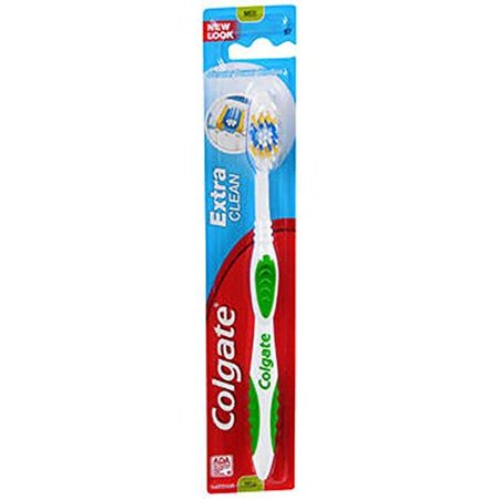 Advantage Glide Advance Clean Toothbrush - Colgate Extra Clean Full Head Toothbrush, Medium