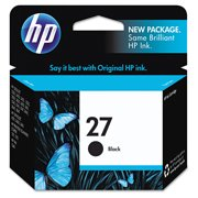 HP 27, (C8727AN) Black Original Ink Cartridge