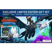 How To Train Your Dragon 3 (Walmart Exclusive Gift + Blu-ray+ Digital+ DVD)