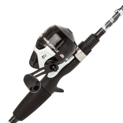 Abu Garcia Ike Dude Spincast Reel and Fishing Rod Combo