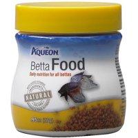 (2 pack) Aqueon Betta Fish Food, .95oz