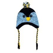 0151ea7e12f Aquarius Boys Black Owl Critter Style Peruvian Hat