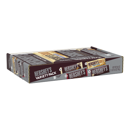 Hershey's, Gold Variety Box, 26.4 oz, 18 ct