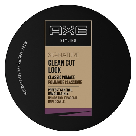 AXE Clean Cut Look, Classic, Hair Pomade for Men, 2.64 (Best Axe Men Hair Products)