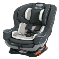 Graco Extend2Fit Convertible Car Seat featuring RapidRemove, Carter