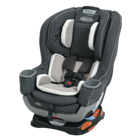 Graco Extend2Fit Convertible Car Seat featuring RapidRemove,