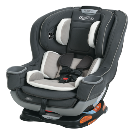 - Graco Extend2Fit Convertible Car Seat featuring RapidRemove, Carter