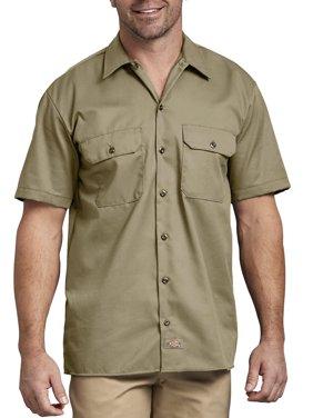 Men's Short Sleeve Twill Work Shirt