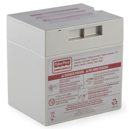 Power Wheels 12-Volt Rechargeable Replacement Battery](Power Wheels Ages 8 Up)