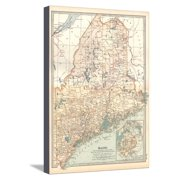Maps Of Maine Towns