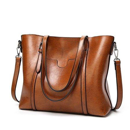 Women Fashion Top Handle Satchel Handbags Shoulder Bag