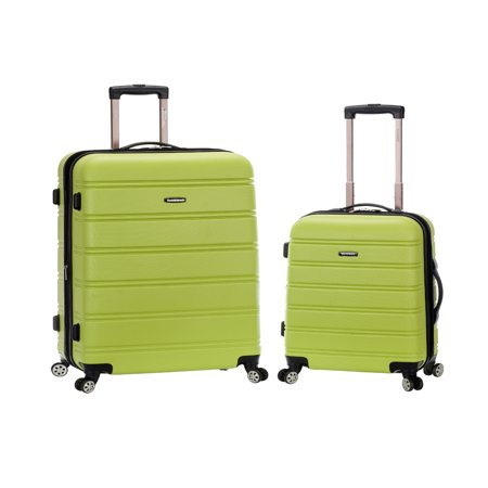 Rockland Melbourne 2 Piece Hardside Spinner Luggage Set