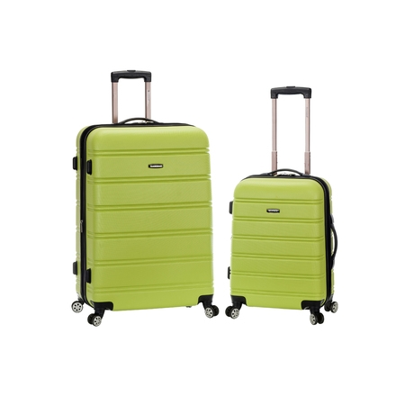 2 Piece Luggage Set (Rockland Melbourne 2 Piece Hardside Spinner Luggage Set )