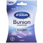 Dr Scholl's Duragel Bunion Cushion, 5 CT