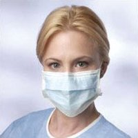 Disposable Pleated Earloop Face Masks (Pack of 50)
