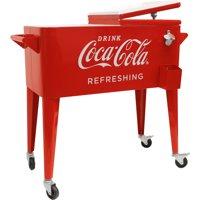 "Leigh Country 80-Quart Retro Coca-Cola Cooler ""Refreshing"""