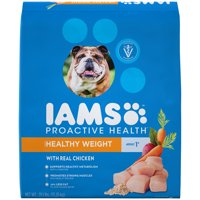 IAMS PROACTIVE HEALTH Adult Healthy Weight Dry Dog Food Chicken, 29.1 lb. Bag