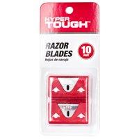 Hyper Tough Single Edge Razor Blades, 10-pack
