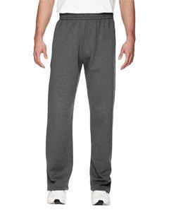 - Fruit of the Loom Adult 7.2 oz. SofSpun® Open-Bottom Pocket Sweatpants
