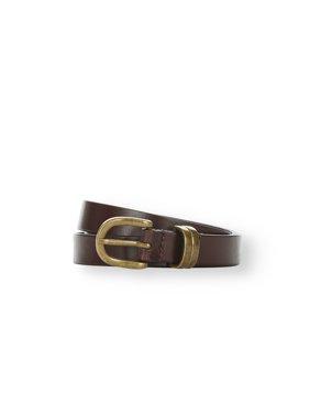 LPLP Linea Pelle Women's 100% Genuine Leather Belt