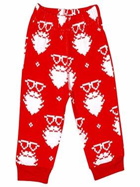 UB Christmas Santa Matching Family Pajama Pants (Baby 12m)