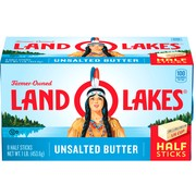 Land O Lakes Half Stick Unsalted Butter, 1 lb.