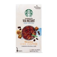 Starbucks VIA Instant Caramel Iced Coffee (1 box of 6 packets)