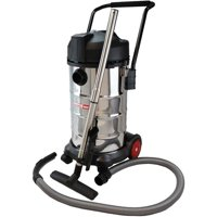 ReadiVac 10-Gallon Wet/Dry Vacuum, Stainless Steel, 35410DS