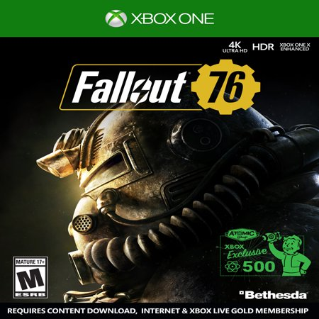 Fallout 76, Bethesda Softworks, Xbox One (Fallout New Vegas Best Attributes)