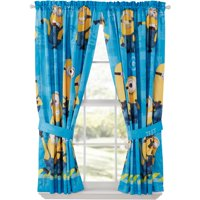 Minions Polyester Curtain Panel, Set of 2