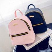 Obstce Fashion Faux Leather Mini Backpack Girls Travel Handbag School Rucksack  Bag d912a0680d5bd