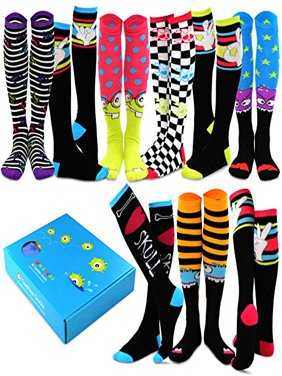 eb25d3b86d7 Free shipping. Product Image TeeHee Special (Holiday) Women Knee High 9-Pair  Socks with Gift Box (
