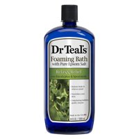 Dr Teal's Relax & Relief with Eucalyptus & Spearmint Foaming Bath, 34 fl.oz.