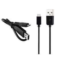 USB Data Sync Cable FOR Amazon Fire HD 7 (Black - 3 feet long)