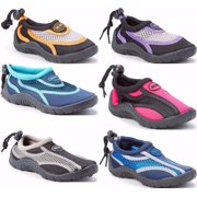 938d760b675215 Children s Kids Water Shoes Aqua Socks Beach Pool Yoga Exercise Waterproof  Durable Adjustable Toggle Unisex