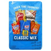 General Mills Classic Mix Variety Snack Pack, 28 Oz., 18 Count