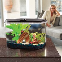 Hawkeye 5-Gallon Panaview Aquarium with LED Lighting and Power Filter