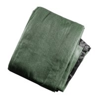 Aleko Privacy Mesh Fabric Screen Fence with Grommets - 8 x 50 Feet - Dark Green
