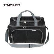 TOMSHOO Large Capacity Thermal Insulated Cooler Lunch Bag Food Box Handbag Outdoor Camping Storage Bag