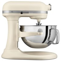KitchenAid Pro KP26M1XFL 600 Series 6 Quart Bowl-Lift Stand Mixer, Matte Fresh Linen