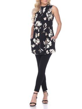 Women's Sleeveless Tunic Top