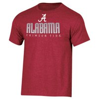 Men's Russell Crimson Alabama Crimson Tide Basic Logo Crew Neck T-Shirt