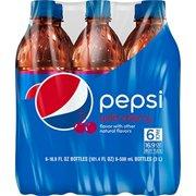 (4 Pack) Pepsi Soda, Wild Cherry, 16.9 Fl Oz, 6 Count