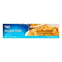 (6 Pack) Great Value Angel Hair, 16 oz