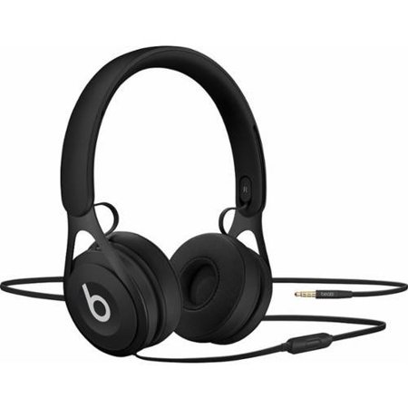 Certified Refurbished Beats by Dr. Dre EP Black Over Ear Headphones