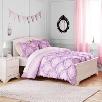 Better Homes and Gardens Kids Ruffle Fans Bedding Comforter Set